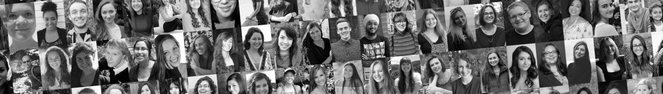 Photo collage of WWU students who have received scholarships